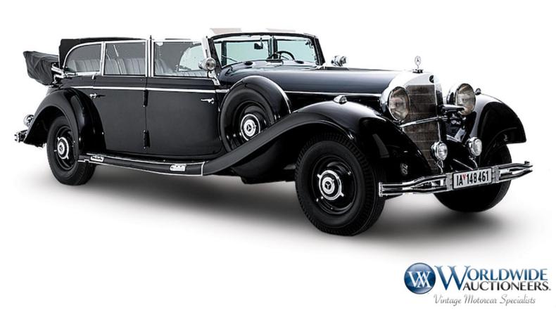 USA: Hitlers Parade-Mercedes kommt unter den Hammer