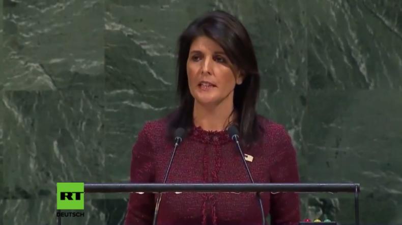 """Die Droh-Rede der USA vor den UN in ganzer Länge - """"Wir werden uns jedes Land merken"""""""