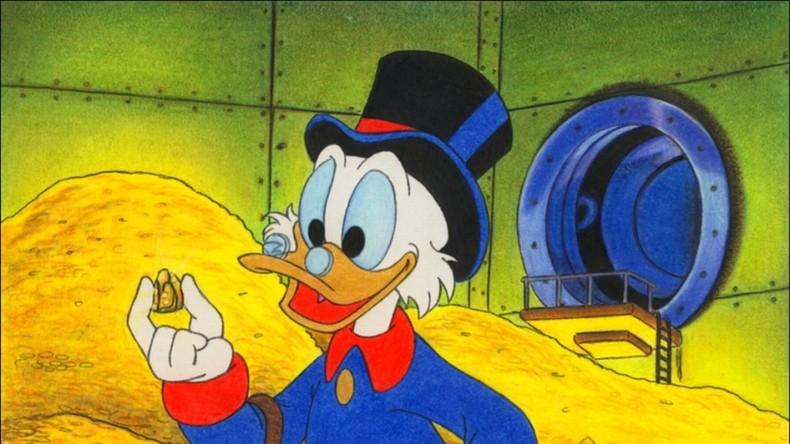 Die Kapitalisten-Ente hat Geburtstag - Dagobert Duck wird 70