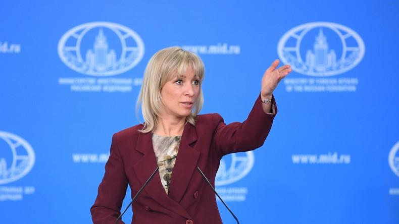 Ankündigung von Gegenmaßnahmen und Hohn aus Russland als Reaktion auf US-Sanktionen