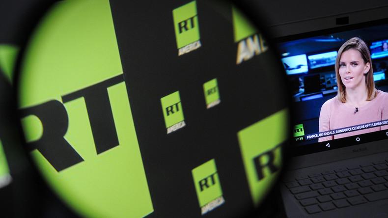 US-Agentengesetz gegen RT untergräbt Arbeit von Medien im Ausland - basiert auf eklatanten Fehlern