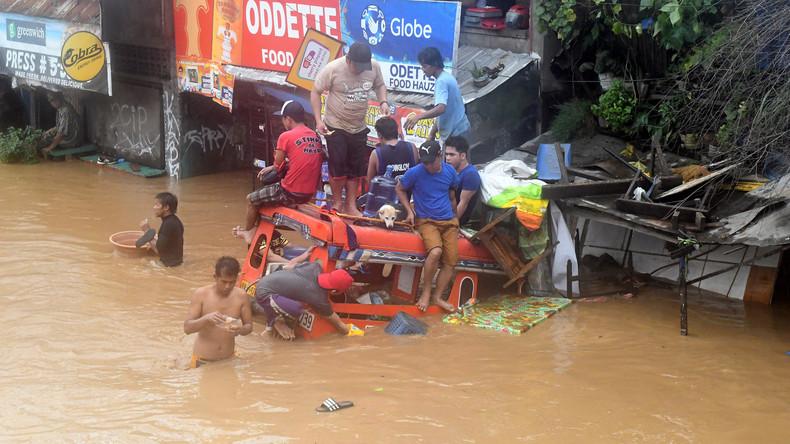 Über 200 Tote durch Tropensturm auf den Philippinen