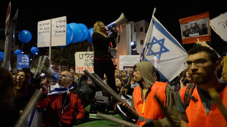Tausende Israelis demonstrieren gegen Korruption