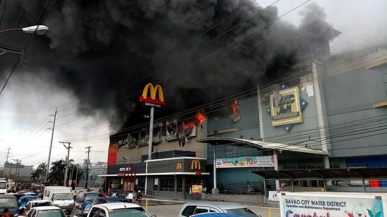 Philippinische Behörden befürchten 37 Tote nach Brand in Einkaufszentrum