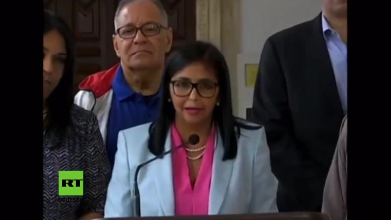 Putsch und rohe Einmischung: Venezuela verweist brasilianischen, kanadischen Diplomaten des Landes