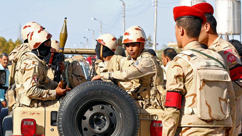 Ägyptische Sicherheitskräfte töten mehrere Terroristen