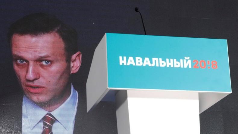 Russland: Oppositioneller Nawalny gibt sich als Präsidentenbewerber