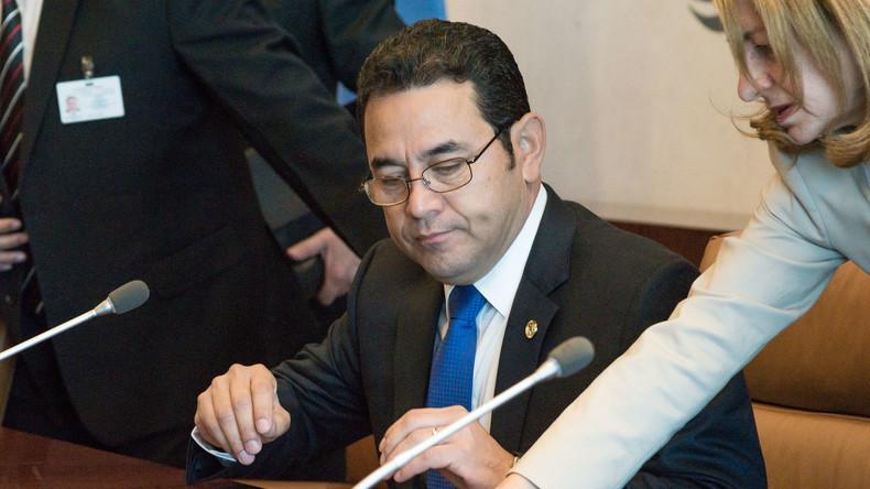 Guatemala: Präsident Morales ordnet Verlegung der Botschaft von Tel Aviv nach Jerusalem an