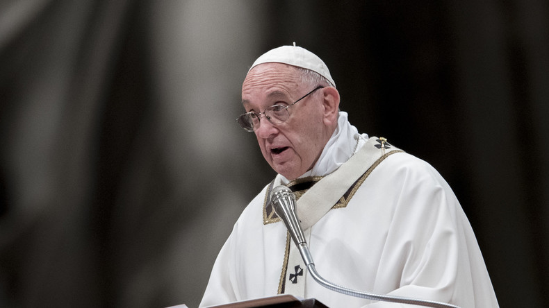 Christmette an Heiligabend: Papst ruft bei Christmette zu Mitgefühl für Verfolgte auf