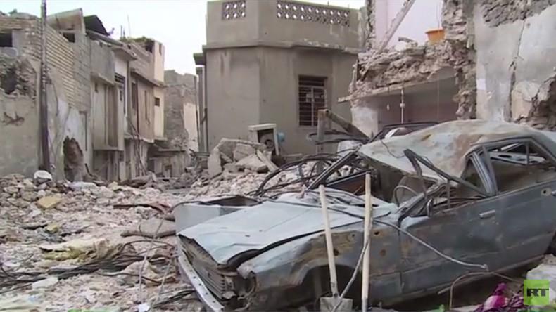 Stadt der Toten: Zahl der Todesopfer in Mossul wächst auch noch Monate nach der Befreiung [VIDEO]