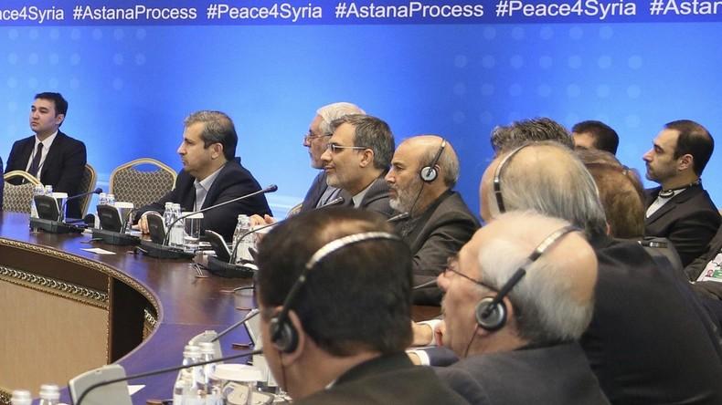 Syrien-Gespräche in Astana: Friedenskongress für Syrien startet im Januar