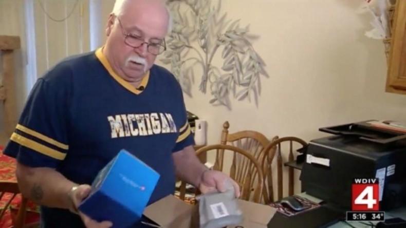 US-Bürger bekommt Pakete mit Handy-Zubehör von Online-Laden – aber er bestellt nichts