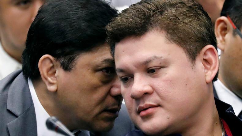 Dutertes Sohn tritt nach Drogen-Vorwürfen zurück