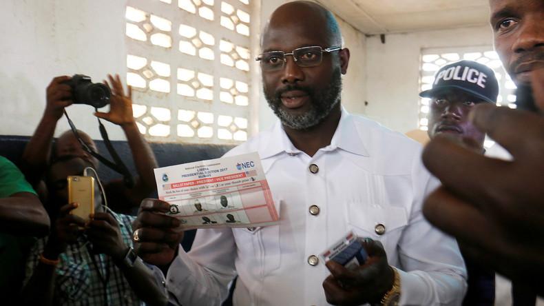 Stichwahl um Präsidentenamt in Liberia - Ex-Fußballstar im Rennen