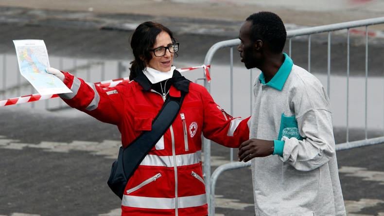 Italien rettet 250 Flüchtlinge aus dem Mittelmeer
