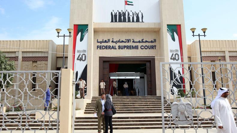 Gericht in Abu Dhabi verurteilt Angeklagte zu langen Gefängnisstrafen wegen Spionage für Iran