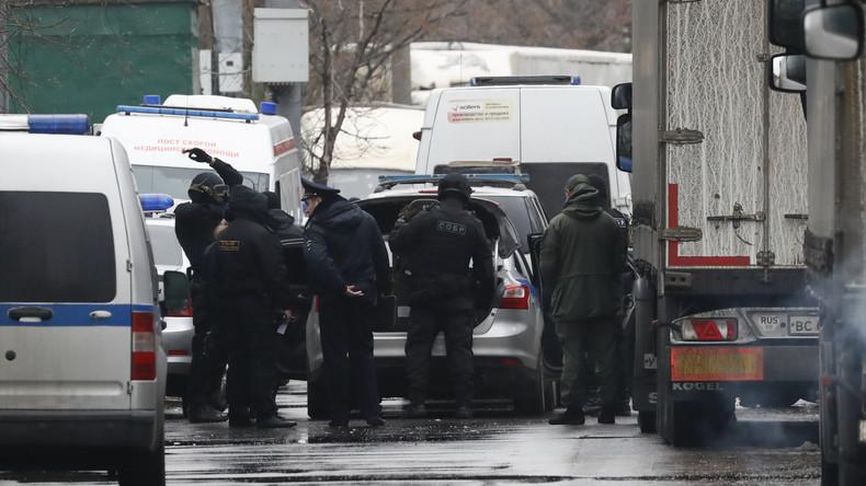 LIVE nach Schießerei in Moskau: Eine Person tot, drei verletzt