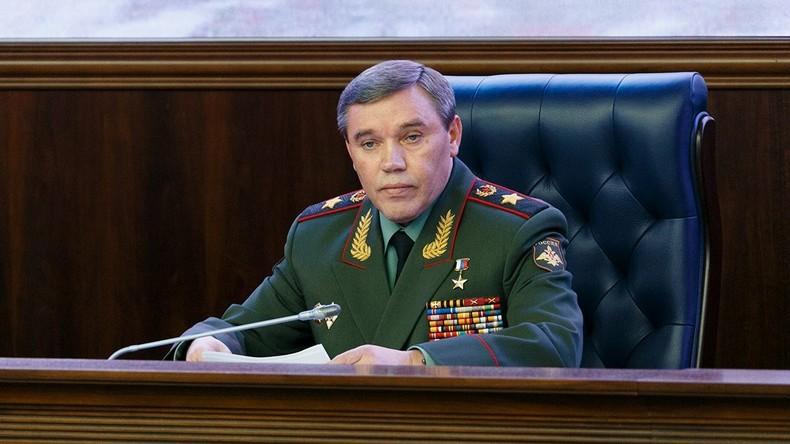 """Russischer Generalstabschef skizziert Hauptaufgabe in Syrien für 2018: """"Al-Nusra vernichten"""""""