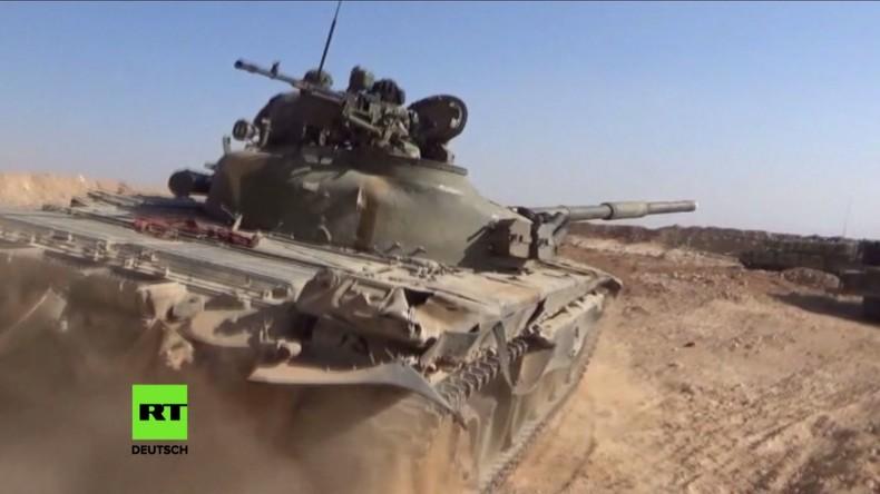 Syrien: SAA und vom Iran unterstützte Truppen dringen tiefer in Grenzgebiet zu Israel vor