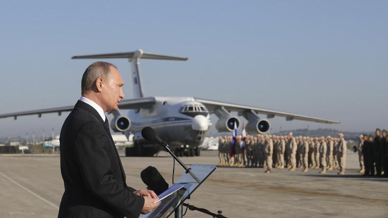 Für stärkere Präsenz in Nahost: Russland baut permanente Militärbasen in Syrien auf