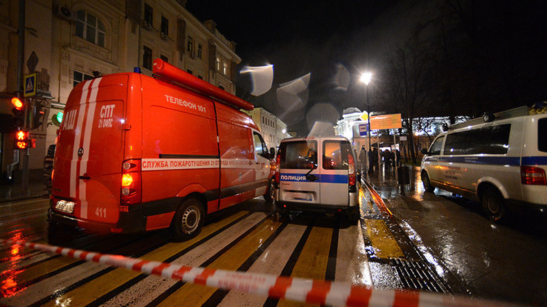 St. Petersburg: Explosion in Supermarkt
