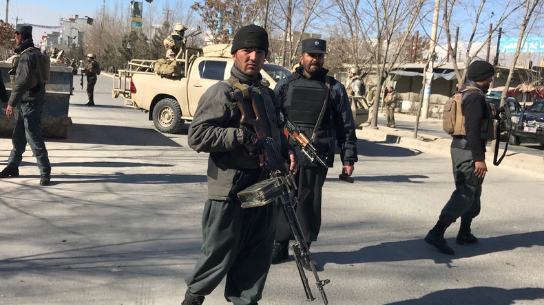 Selbstmordanschlag in Kabul - mindestens 40 Tote