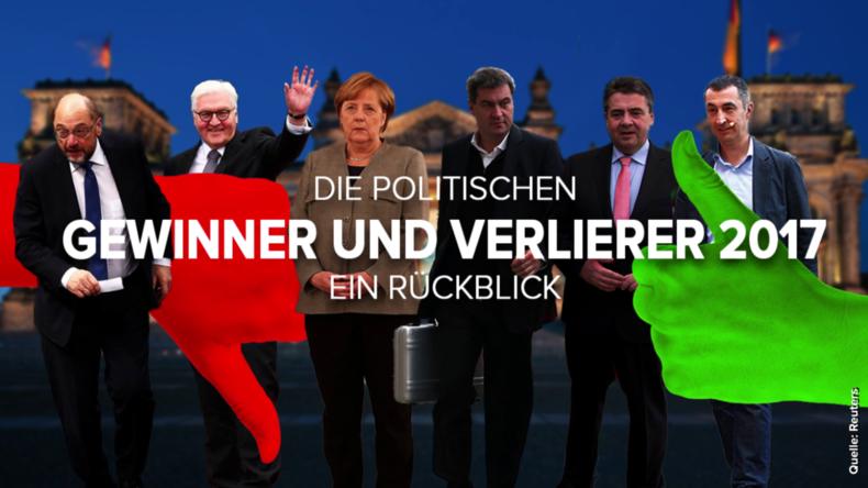 Die politischen Gewinner und Verlierer 2017 | 451 Grad