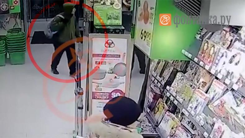 Mutmaßlicher St. Petersburger Terrorist auf Überwachungskamera aufgezeichnet