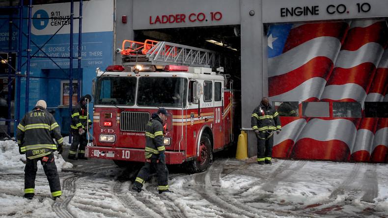 Mindestens zwölf Tote bei Brand in New Yorker Wohnhaus