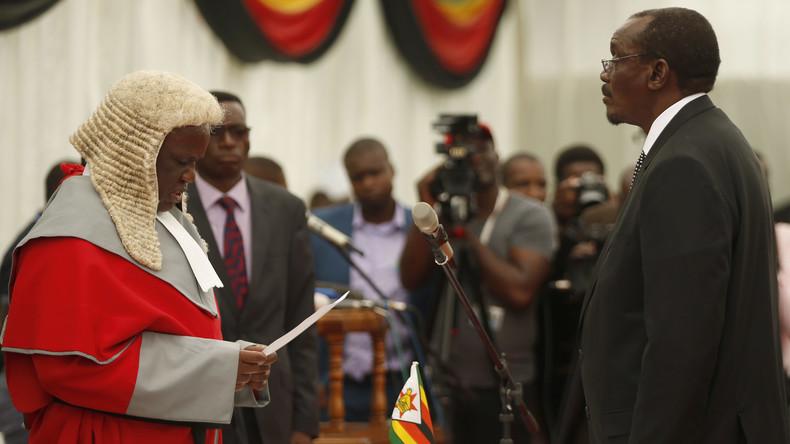 Mitglieder der alten Garde als Vizepräsidenten in Simbabwe vereidigt