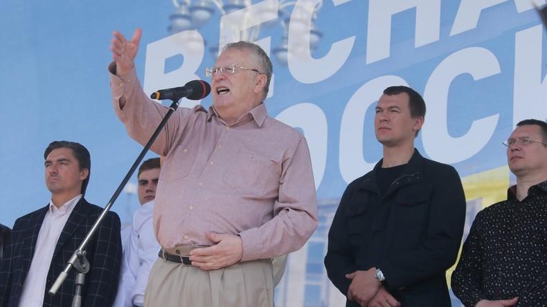 Nawalny vertritt nur Schickeria: LDPR-Politiker über Proteste in Russland [Video]