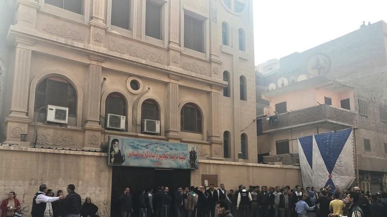 Mehrere Tote bei Angriff auf Kirche nahe Kairo