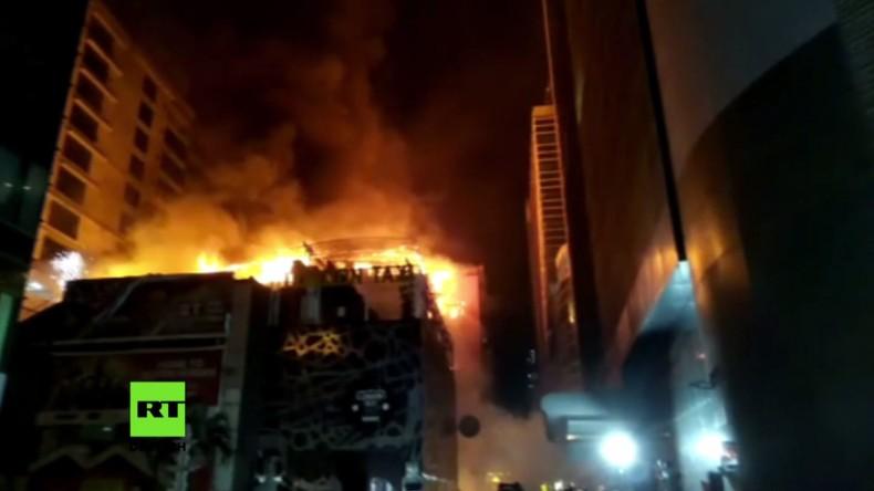 Indien: Brand tötet mindestens 15 Menschen in Mumbai