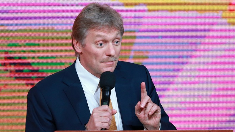 Kremlsprecher nennt Enttäuschungen des Jahres