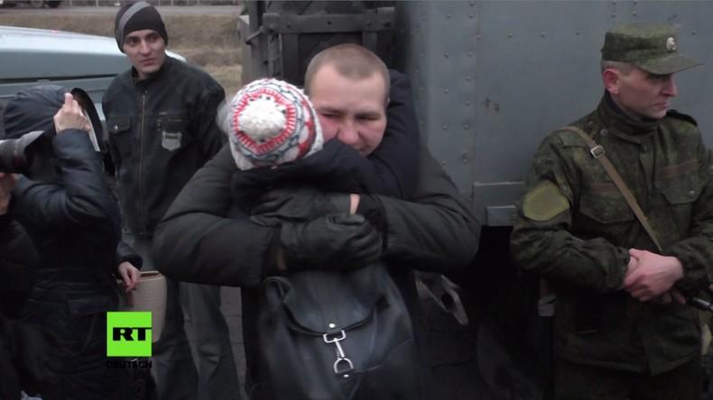Großer Gefangenentausch zwischen Kiew und Donbass-Republiken