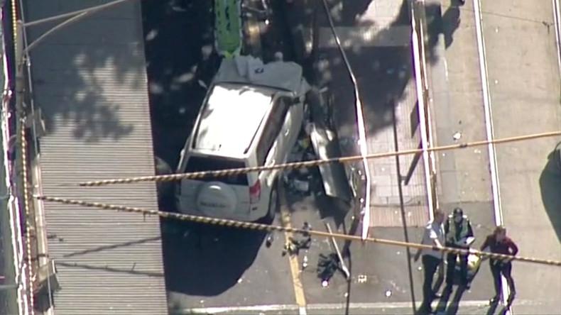 Erstes Todesopfer nach Attacke mit Auto in Melbourne