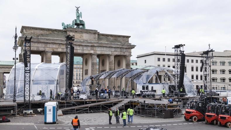 """Berliner Behörden wollen """"Sicherheitszonen"""" für Frauen bei Silvesterfeiern einrichten"""