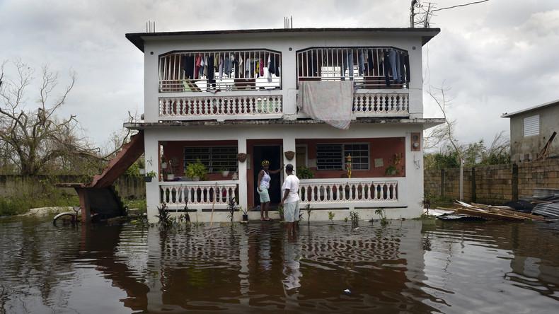 """Nach Hurrikan """"Maria"""": Fast die Hälfte Puerto Ricos noch ohne Strom"""