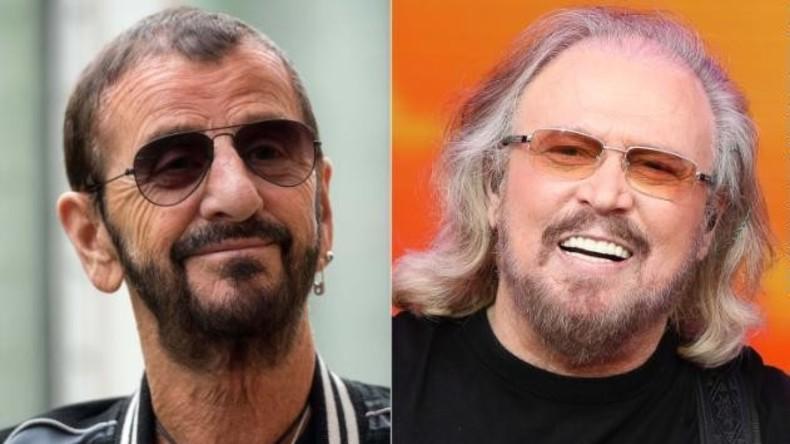 Musiker Ringo Starr und Barry Gibb sind nun Ritter