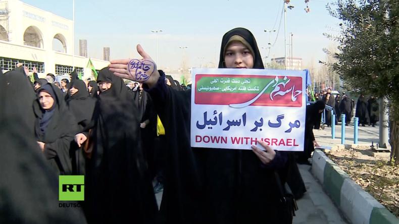 Unruhe im Iran: USA stellen sich hinter Anti-Regierungsdemonstrationen