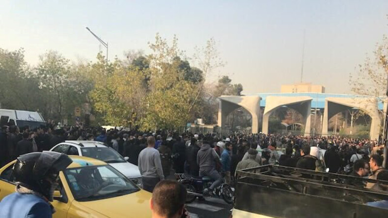 Iran: Erste Tote bei Protesten
