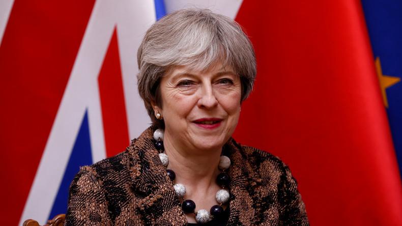 """Theresa May verspricht Landsleuten """"erfolgreichen"""" Brexit"""