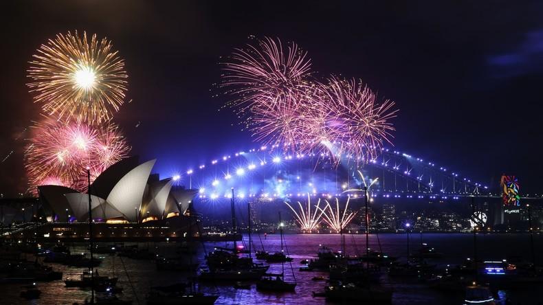Vorfreude auf 2018: Spektakuläres Feuerwerk in Sydney