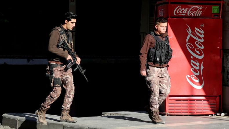 Erneut Razzien gegen IS vor Silvester in Türkei