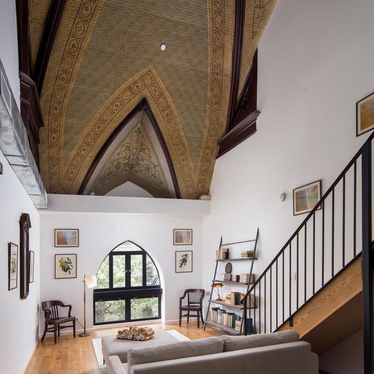 Kirche aus dem 19. Jahrhundert in New York in Wohnhaus umgebaut