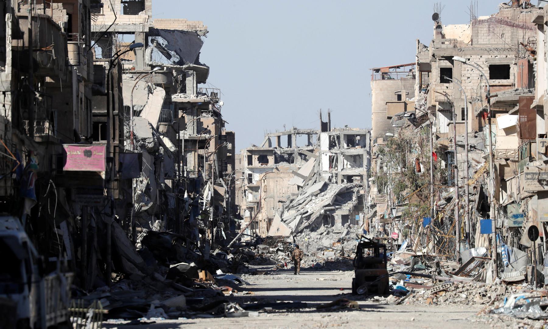Pentagon: Vergesst Russland und Syrien - US-Koalition war einzige Kraft die IS wirklich besiegte