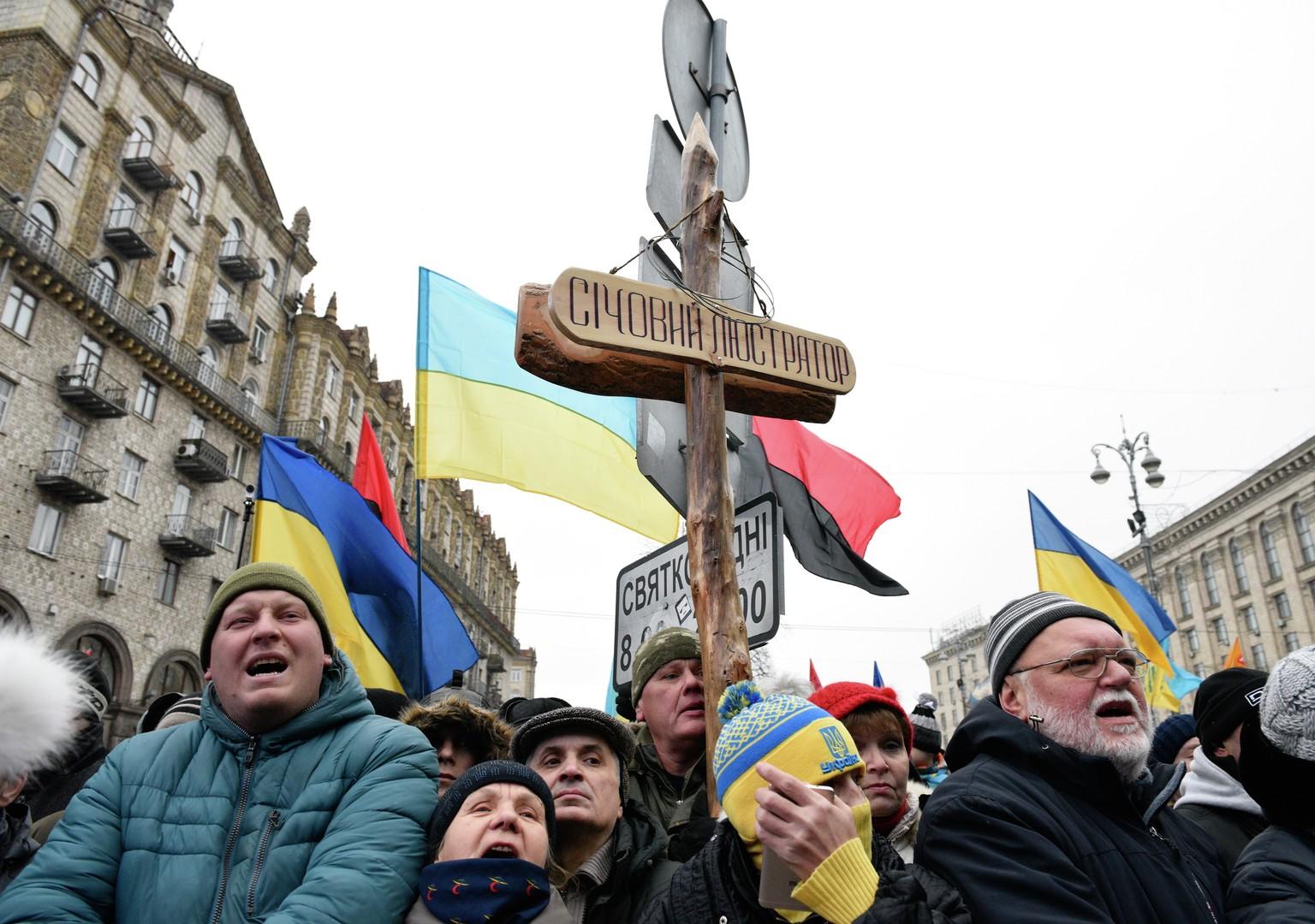 """""""So geht die Revolution nicht"""": Neue Strategien der Machtkämpfe in der Ukraine"""