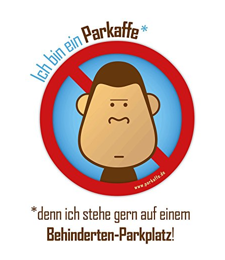 """""""Kannste so parken, ist dann halt scheiße"""" - Kreativer Protest gegen Falschparker"""