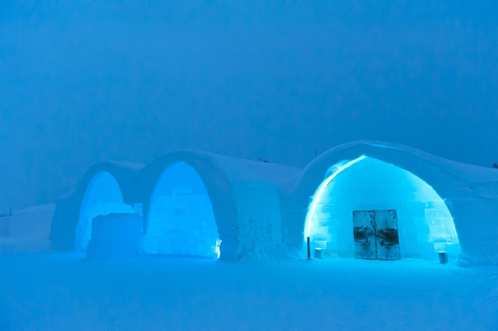 Kleine Auffrischung gefällig? Eishotel am Polarkreis eröffnet