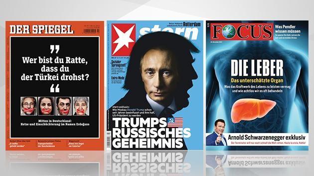 """""""Leitmedien"""" ohne Käufer - Historisches Verkaufstief von Spiegel, Stern und Focus"""